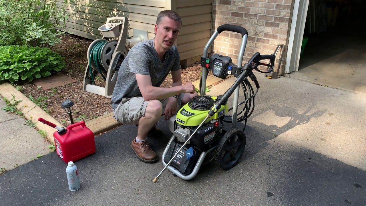 How to maintain pressure washers