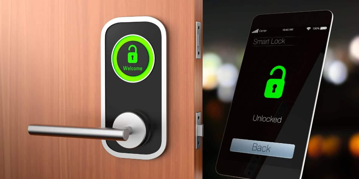 Commercial Electronic Door Lock System